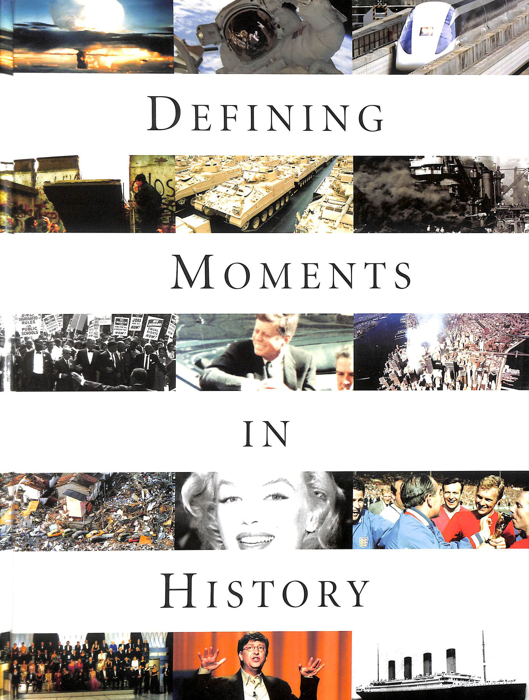 HOLMES, SARAH - Defining Moments in History
