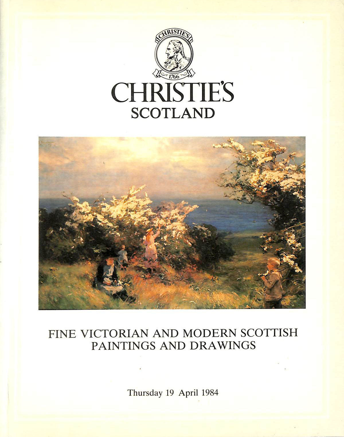 Image for Christie's Scotland, Fine Victorian and Modern Scottish Paintings and Drawings, Thursday 19 April 1984