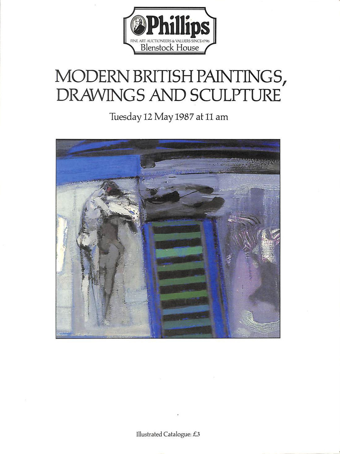 Image for Modern British Paintings, Drawings And Sculpture Tuesday 12 May 1987