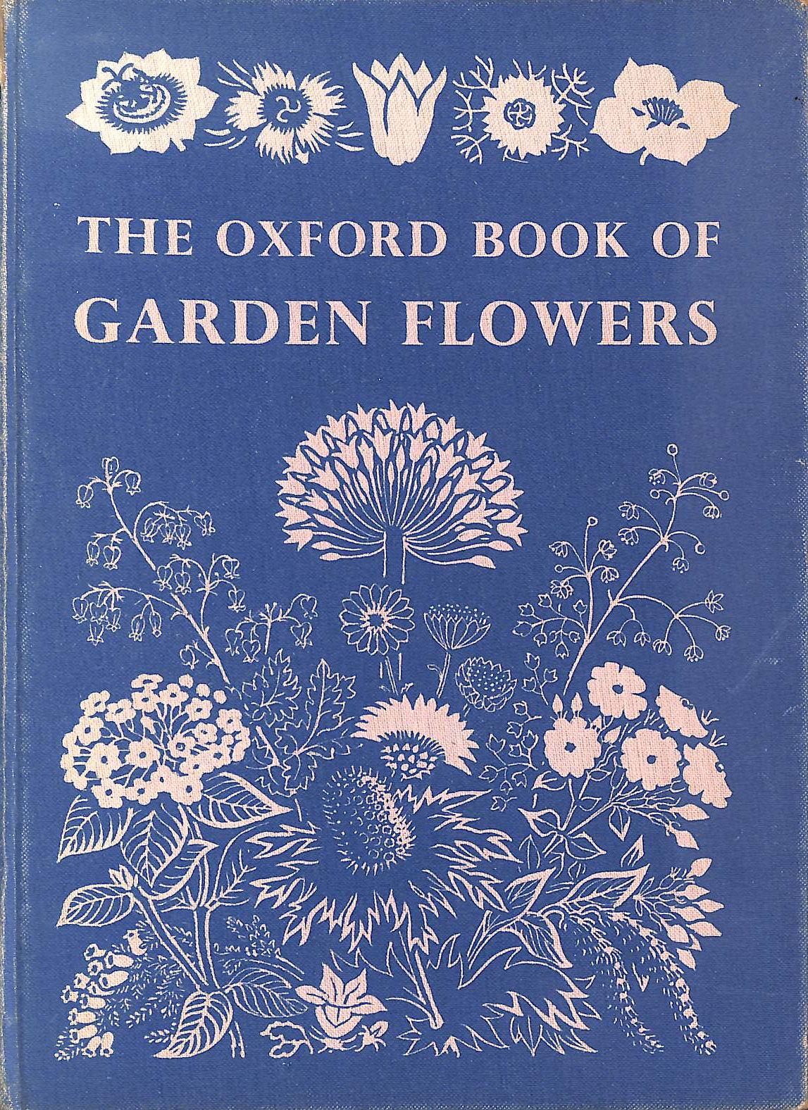 Image for Oxford Book of Garden Flowers