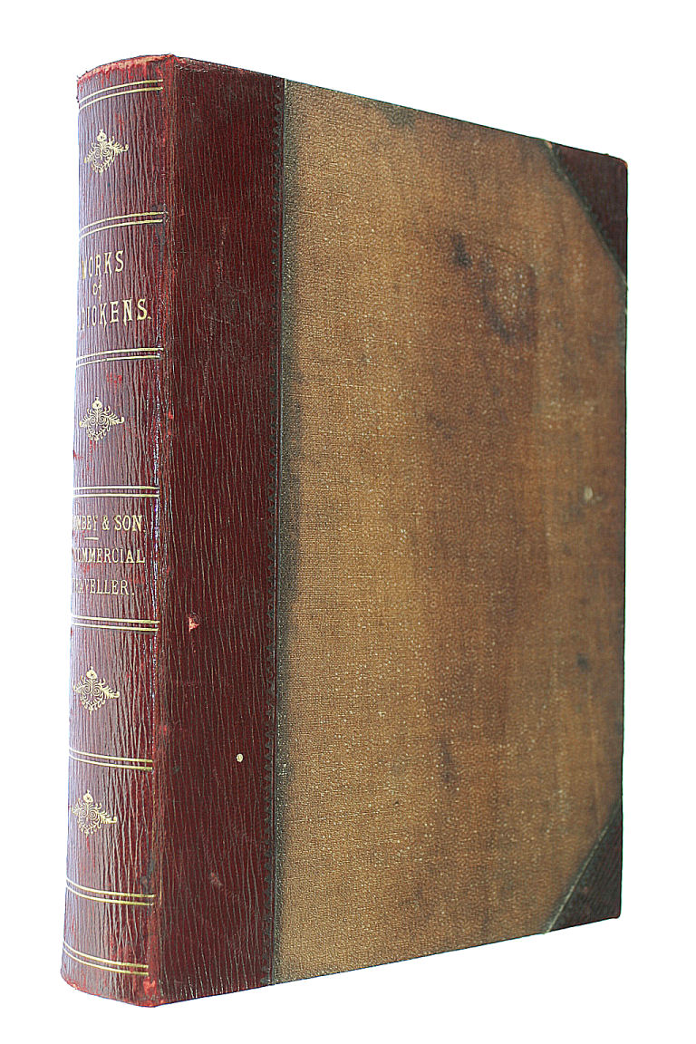 Dombey And Son and Uncommercial Traveller. With Sixty-Two Illustrations By F. Barnard., Charles Dickens