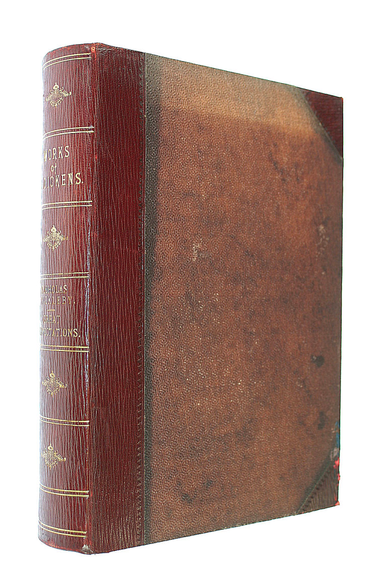 Nicholas Nickleby & Great Expectations, Dickens, Charles Illustrated By F. Barnard