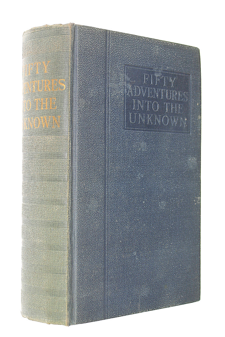 Image for Fifty Adventures into the Unknown