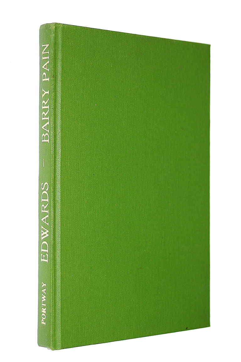 Edwards: The Confessions of a Jobbing Gardener (Portway Reprints), Pain, Barry