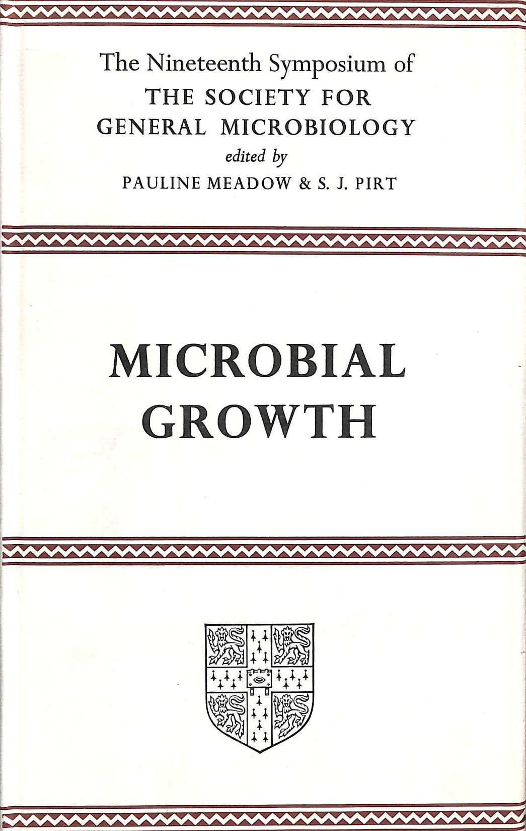 Image for Microbial Growth: Nineteenth Symposium of the Society for General Microbiology