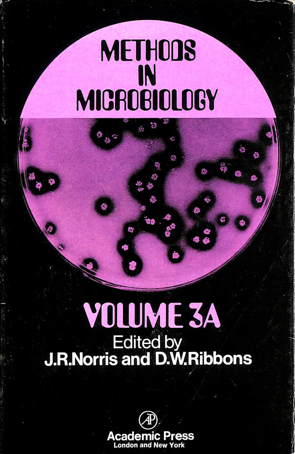 Image for Methods in Microbiology: v. 3A