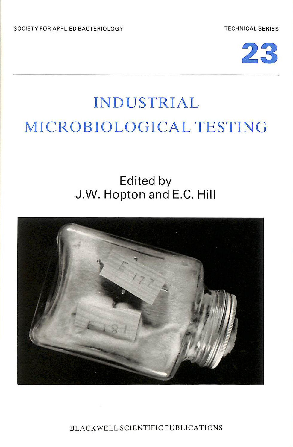 Image for Industrial Microbiological Testing (Soc Applied Bacteriology)