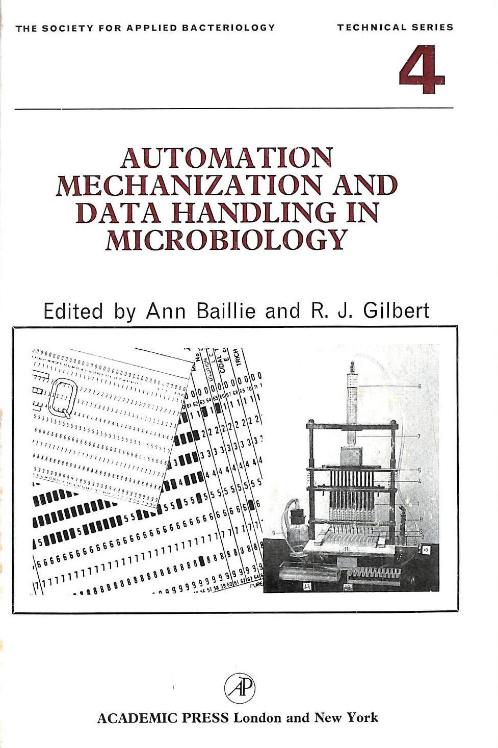 Image for Automation, Mechanization and Data Handling in Microbiology (Society for Applied Biology Technical)