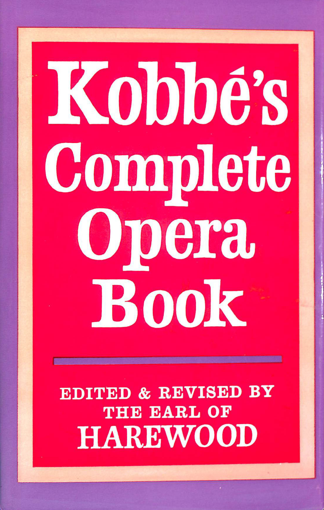 Image for Complete Opera Book