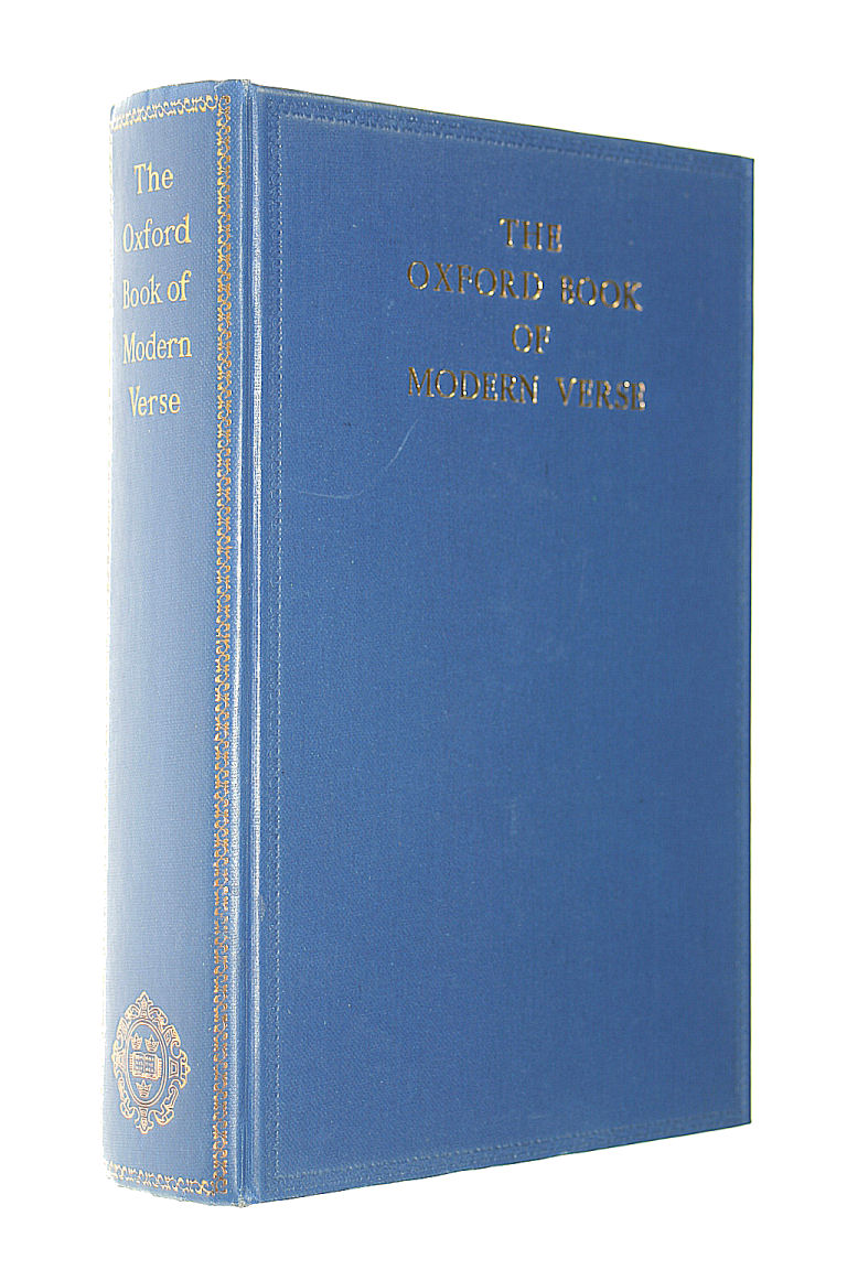 The Oxford Book of Modern Verse 1892 - 1935, Yeats ,W.B. (ed)