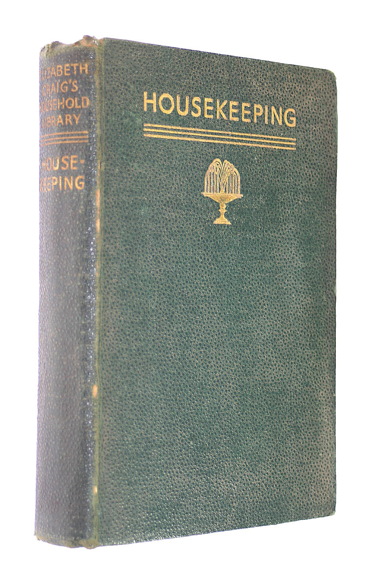 Image for Housekeeping - Elizabeth Craig's Household Library
