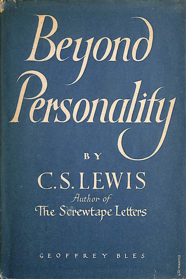 Beyond Personality: The Christian Idea of God, Lewis, C.S.