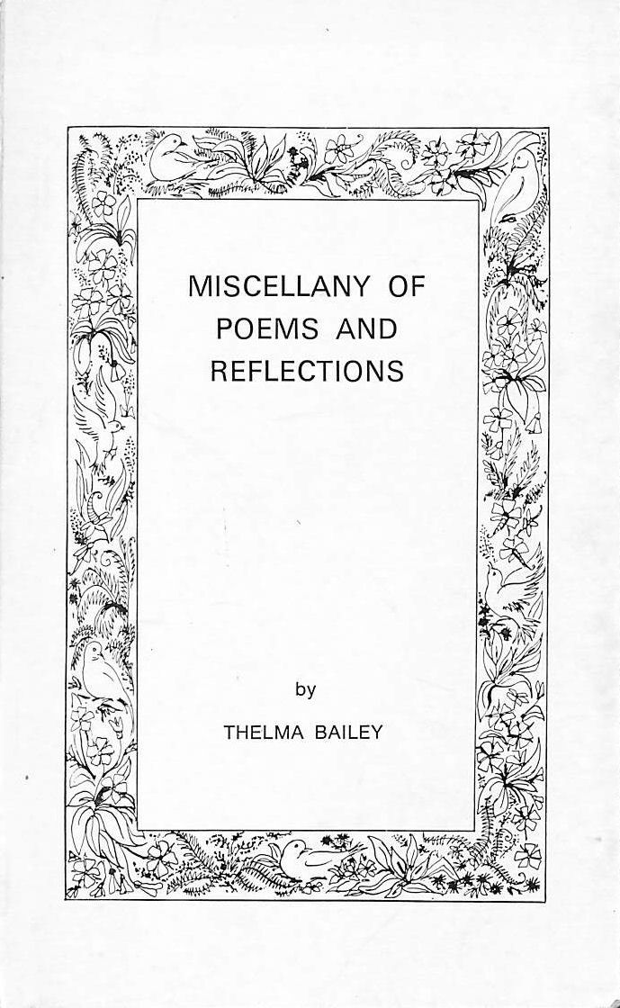 Image for Miscellany of poems and reflections