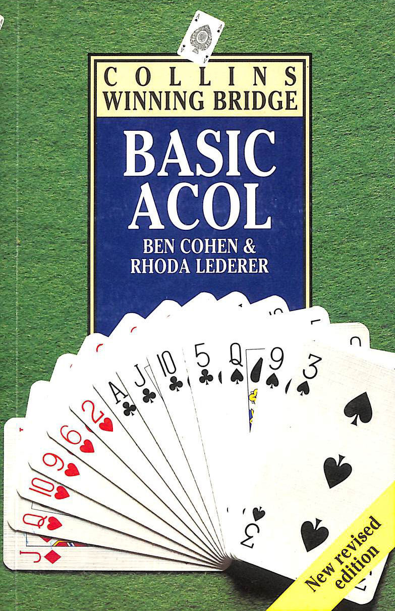 COHEN, BEN; LEDERER, RHODA - Collins Winning Bridge: Basic Acol