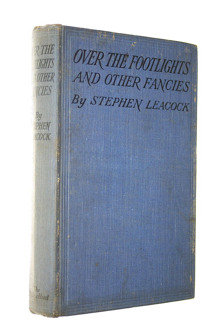 Image for Over the Footlights / by Stephen Leacock