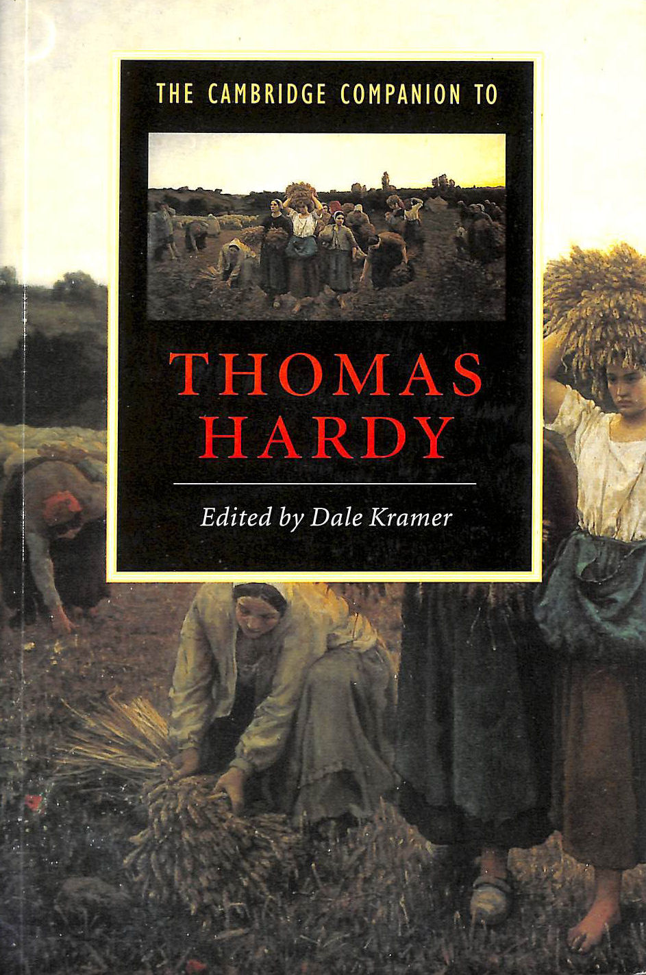 Image for Cambridge Companion to Thomas Hardy (Cambridge Companions to Literature)