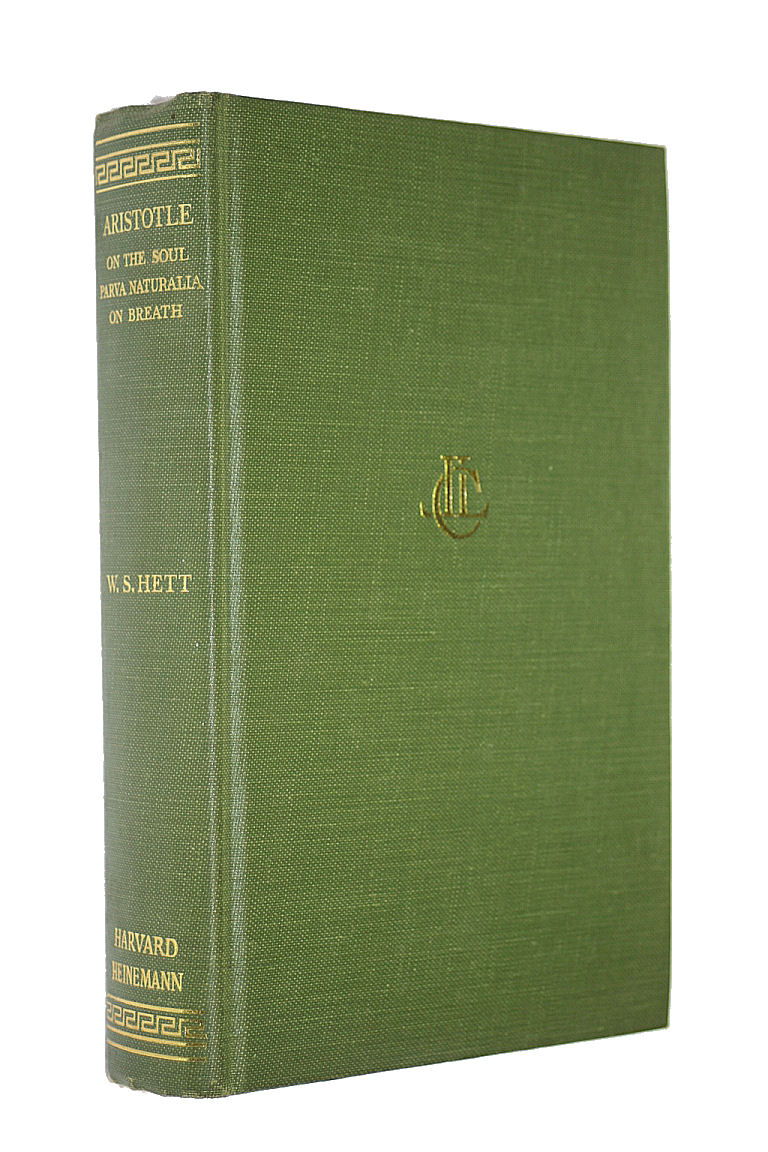 Image for De Anima (Loeb Classical Library)