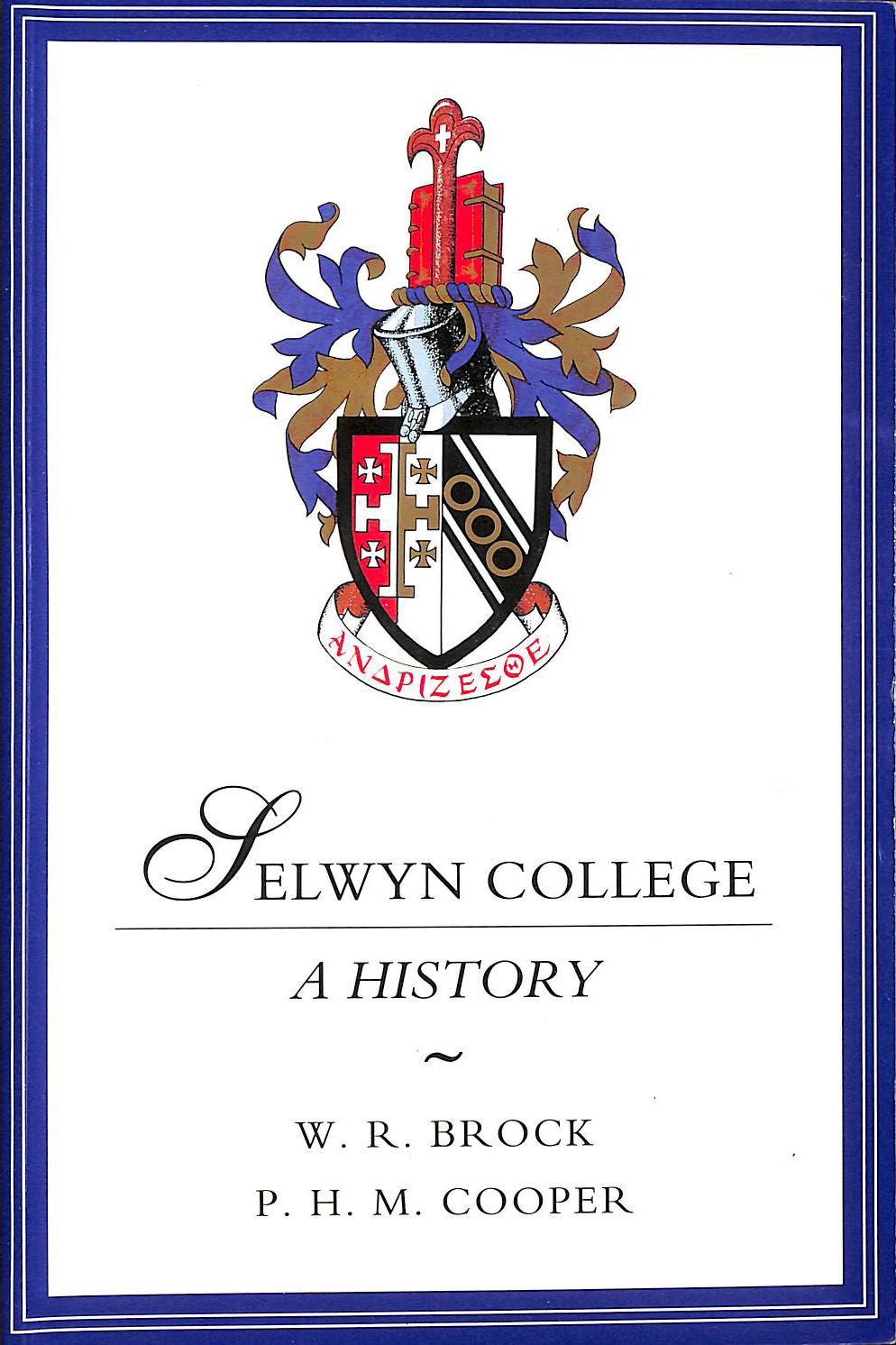 Image for Selwyn College: A History