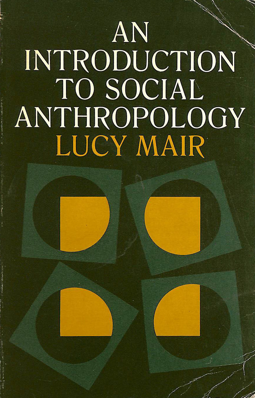 Image for An Introduction to Social Anthropology