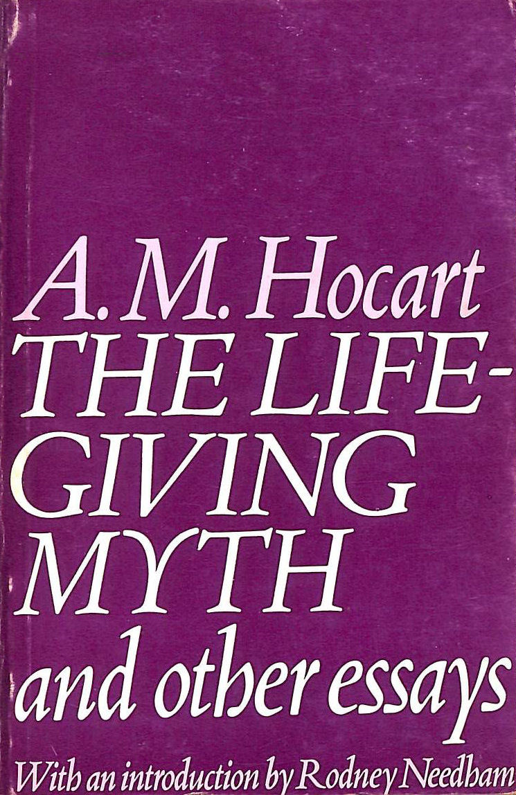 Image for Life-giving Myth and Other Essays (Social Science Paperbacks)