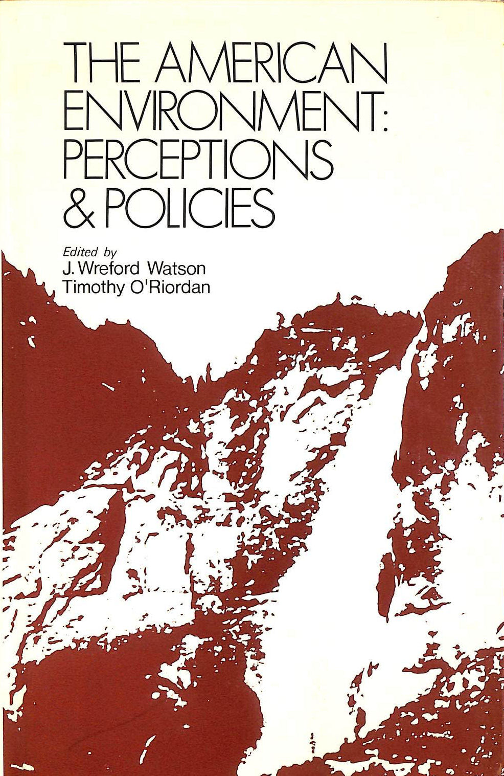 Image for American Environment: Perceptions and Policies
