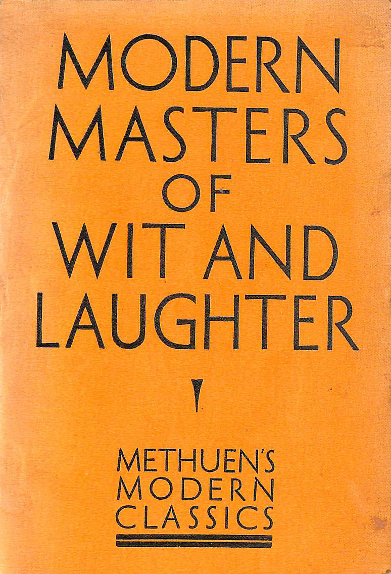 Image for Modern Masters of Wit and Laughter