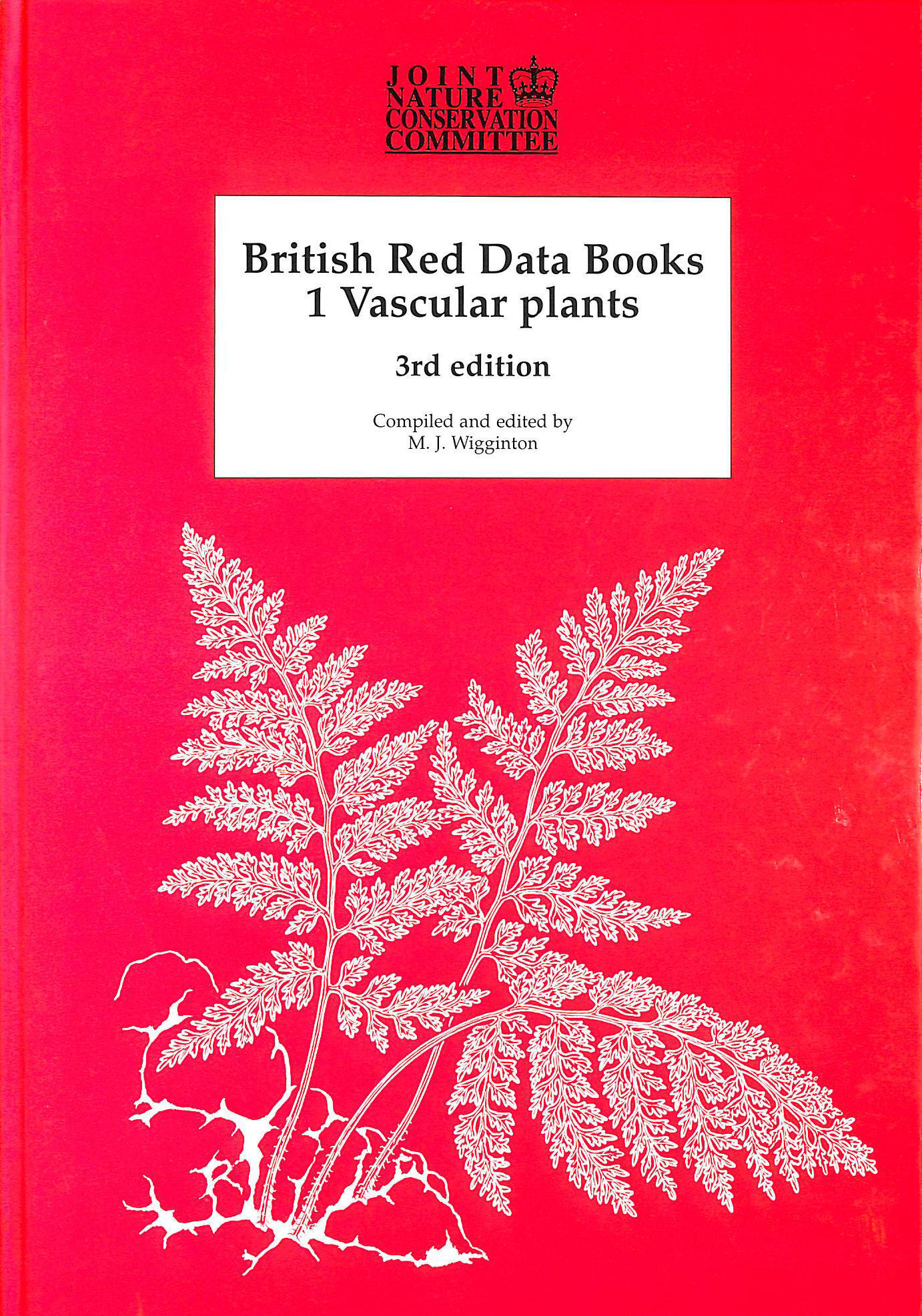 Image for British Red Data Book 1: Vascular Plants: Vascular Plants No 1