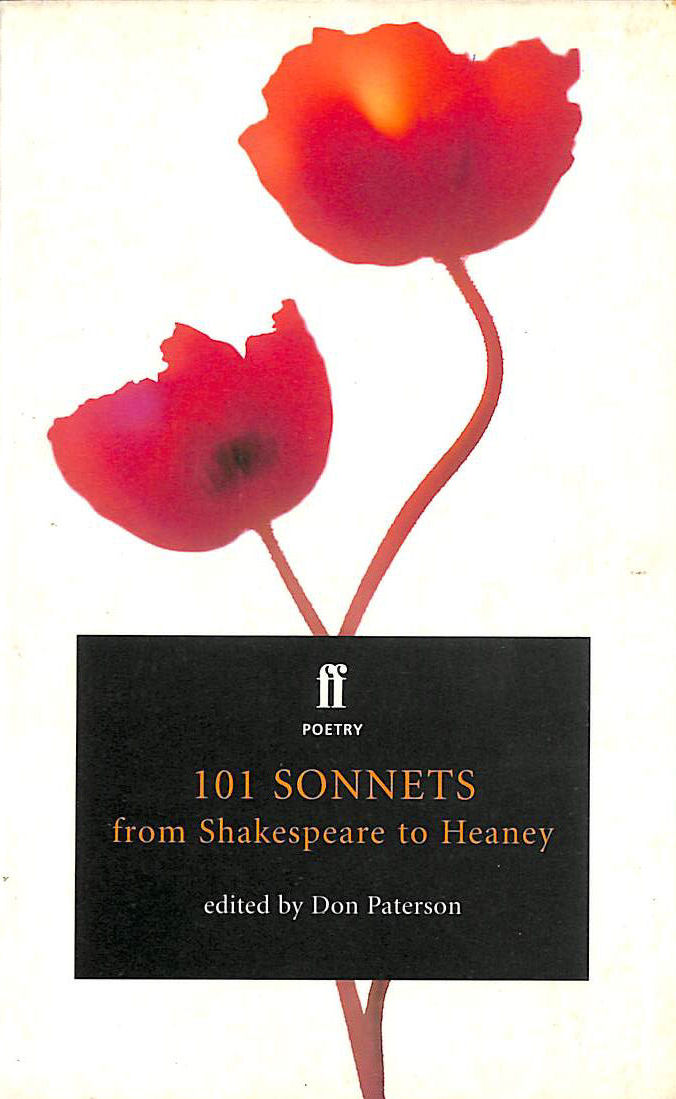 Image for 101 Sonnets: From Shakespeare to Heaney