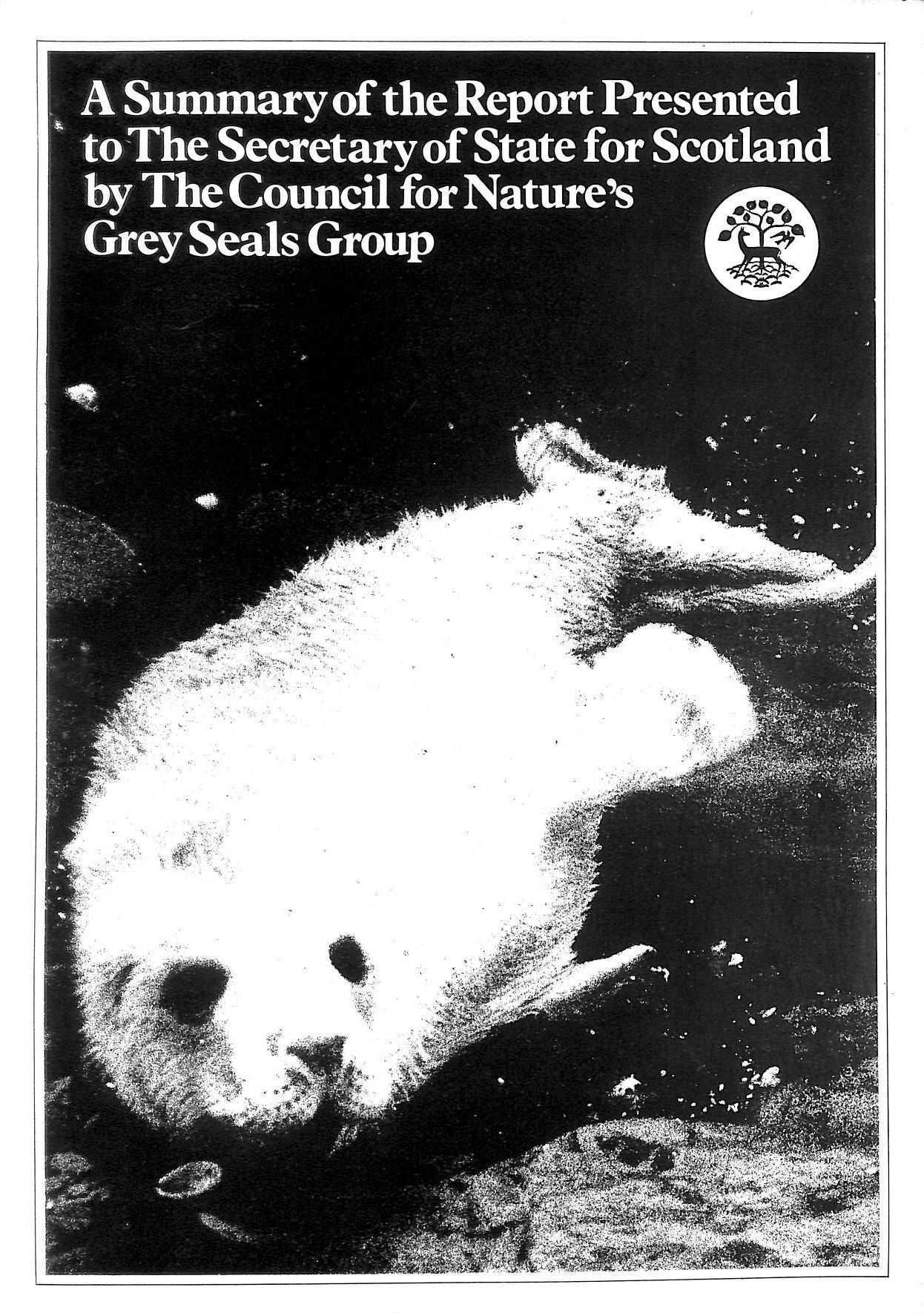 Image for A Summary of the Report Presented to The Secretatey of State for Scotland by The Council for Nature's Grey Seals Group