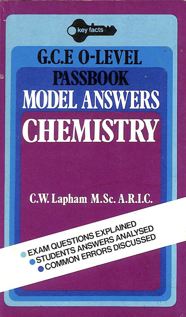 Image for Chemistry: O Level Model Answers (Key Facts)