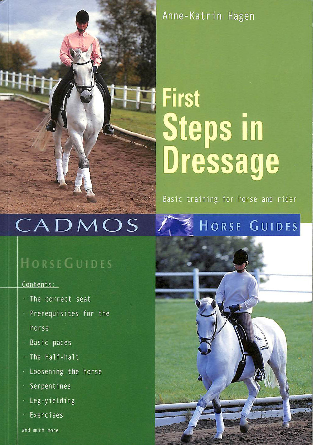 Image for First Steps in Dressage: Basic Training for Horse and Rider (Cadmos Horse Guides)