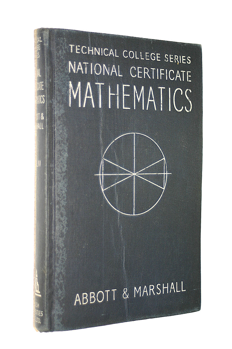 Image for National Certificate Mathematics : Volume II (Second Year Course)