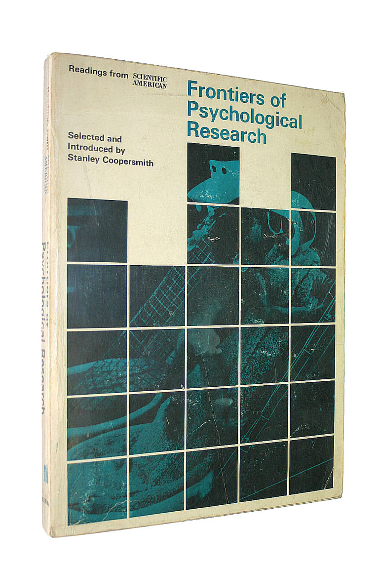 Image for Frontiers of Psychological Research: Readings from Scientific American