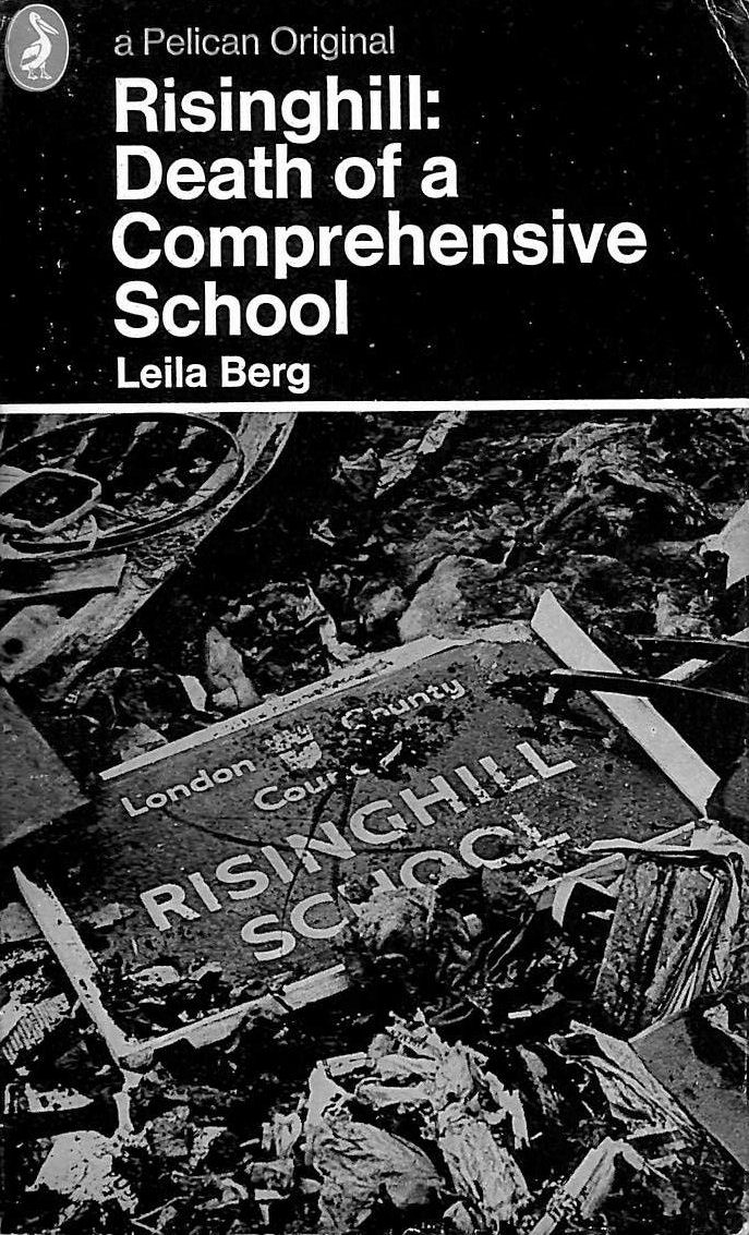 Image for Risinghill: Death of a Comprehensive School (Pelican)
