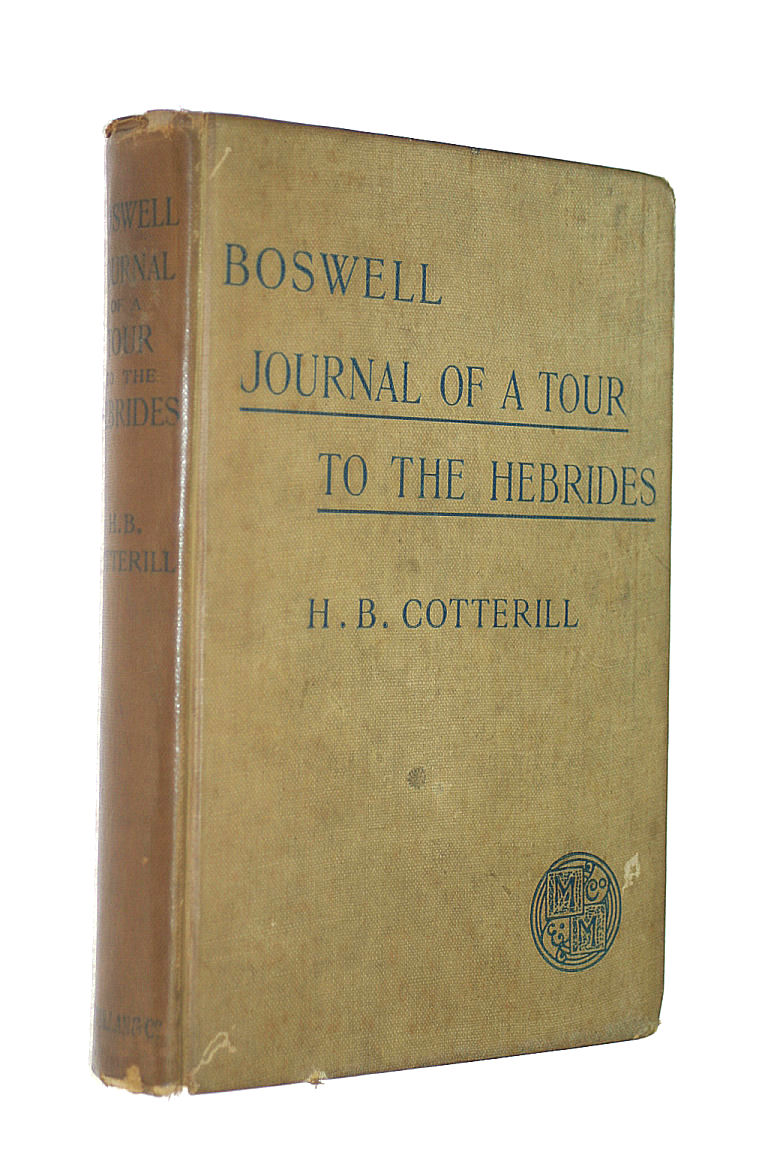 Image for Boswell's Journal of a Tour to the Hebrides with Samuel Johnson