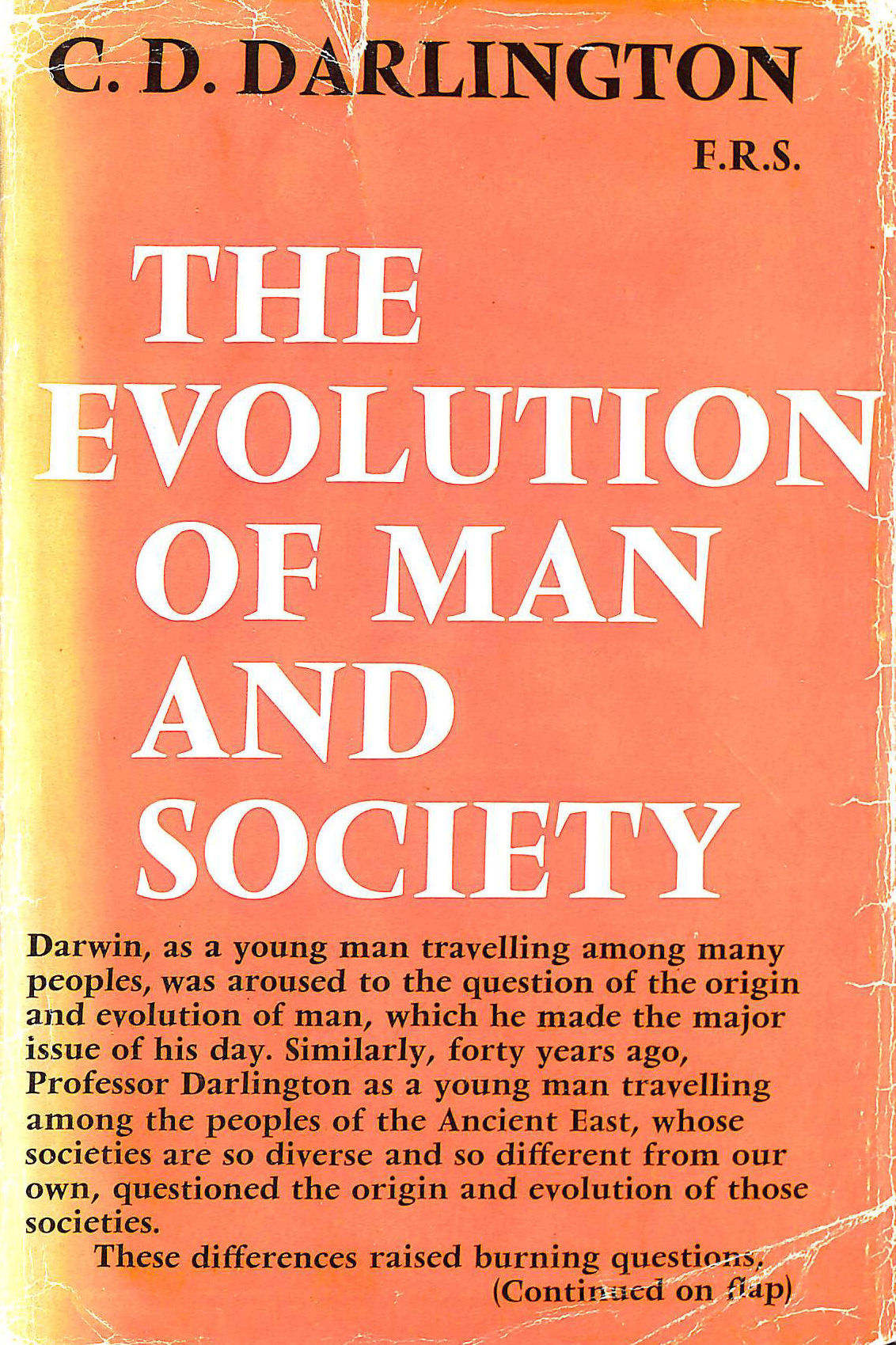 Image for Evolution of Man and Society