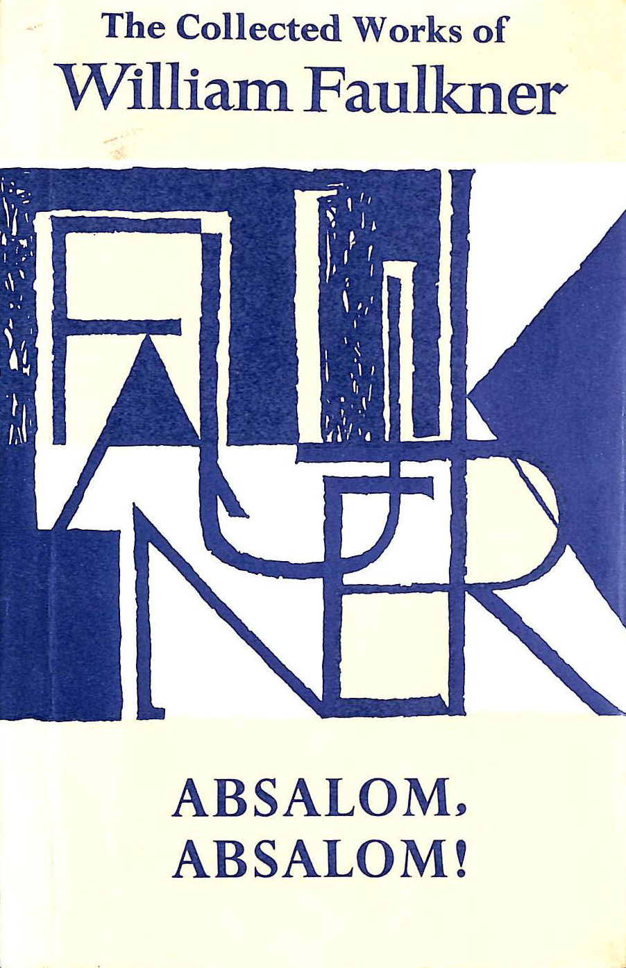 Image for Absalom, Absalom! (The collected works of William Faulkner)