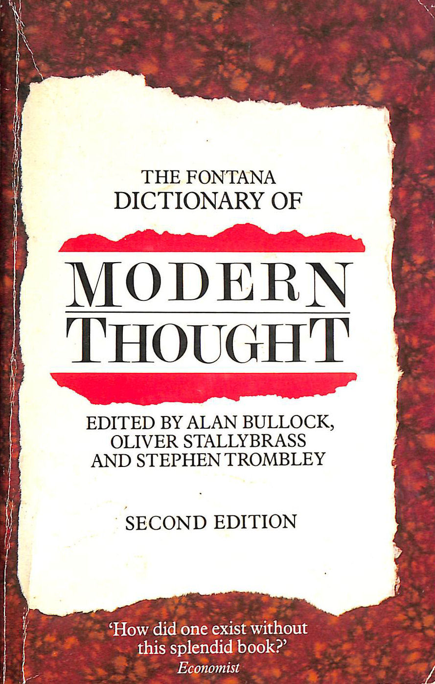 Image for The Fontana Dictionary of Modern Thought