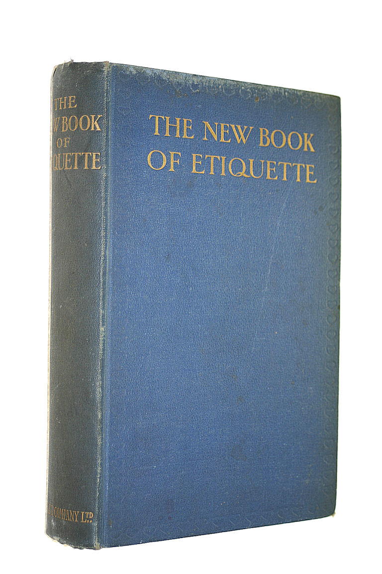 Image for The New Book of Etiquette