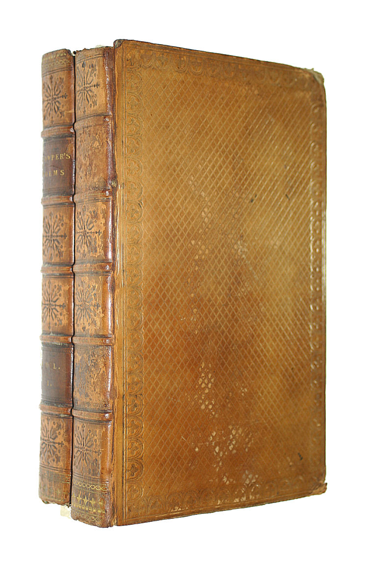 COWPER, WILLAM - Poems by William Cowper. of the Inner Temple
