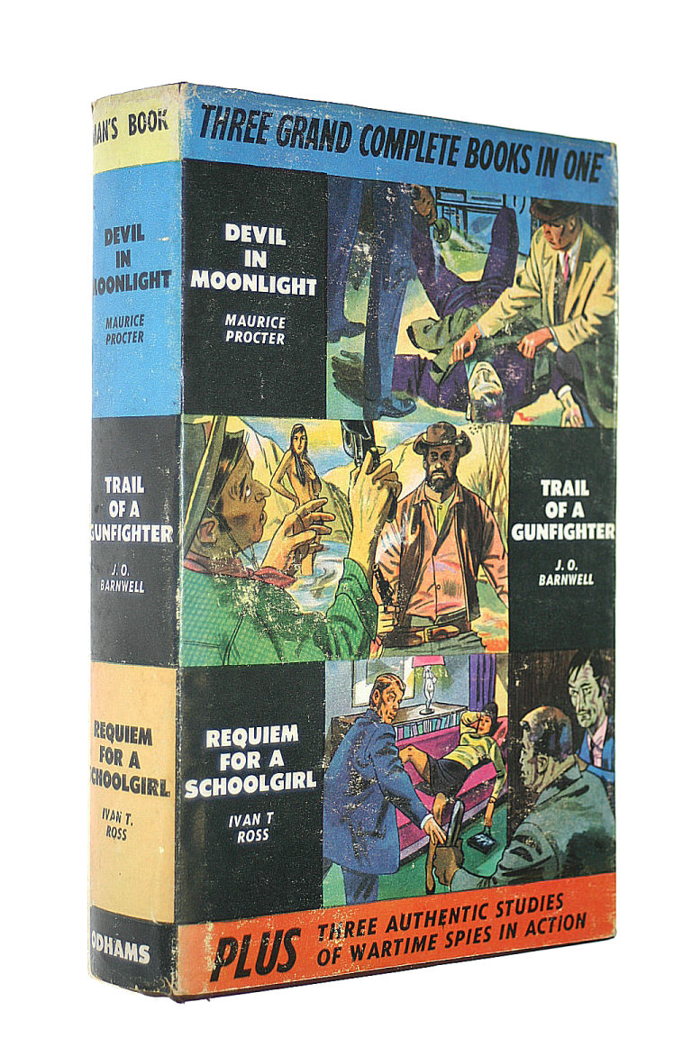 Image for Devil in Moonlight ; Trail of a Gunfighter ; Requiem for a Schoolgirl
