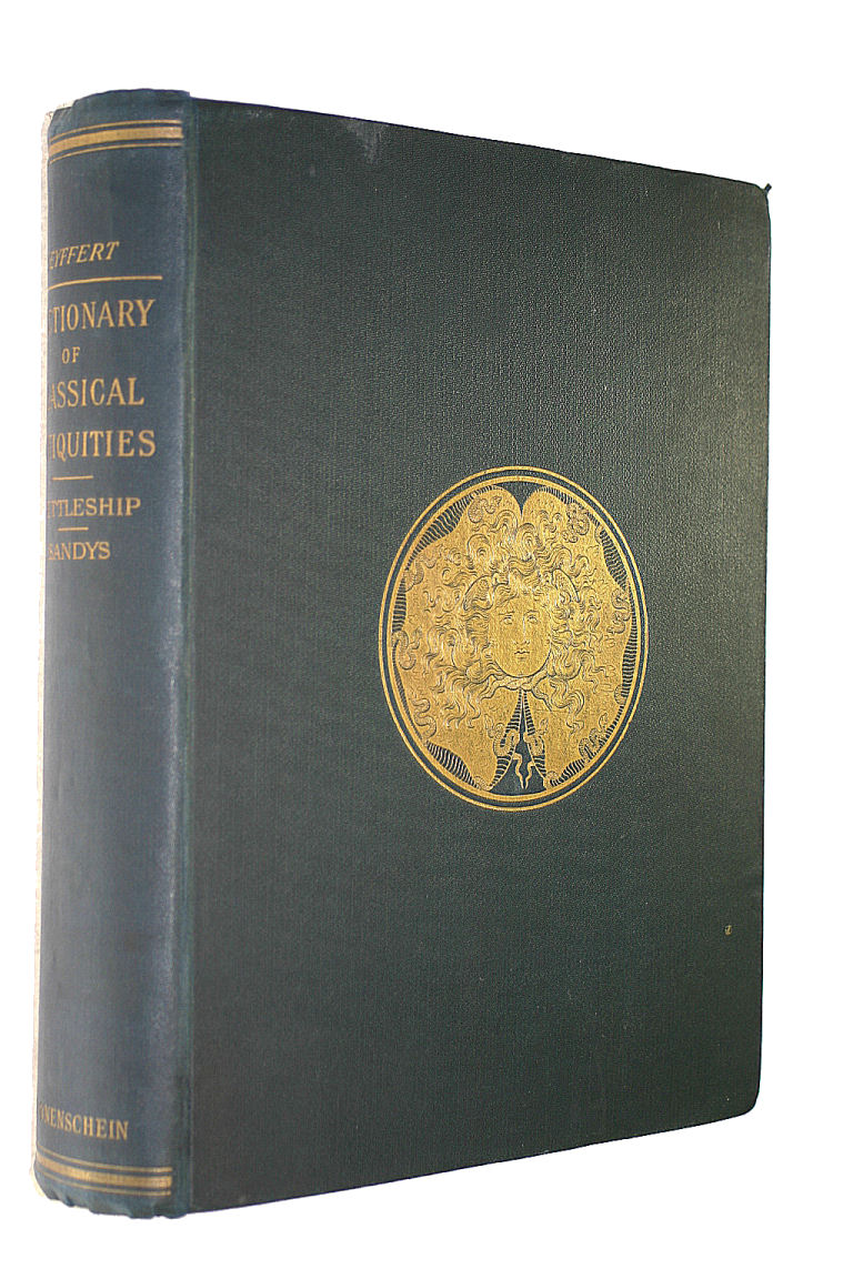 Image for A DICTIONARY OF CLASSICAL ANTIQUITIES. Mythology, Religion, Literature & Art