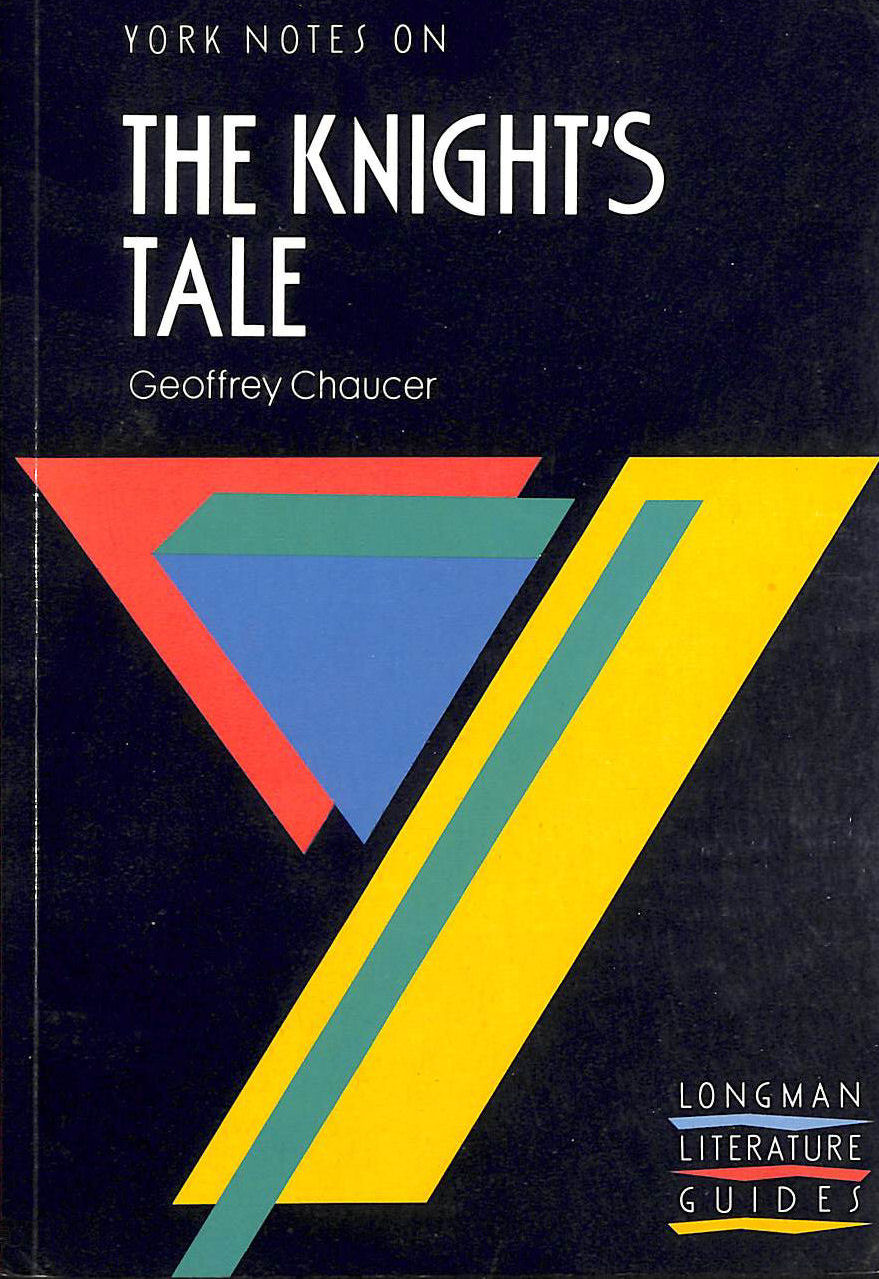 Image for Geoffrey Chaucer, Knight's Tale: Notes (York Notes)