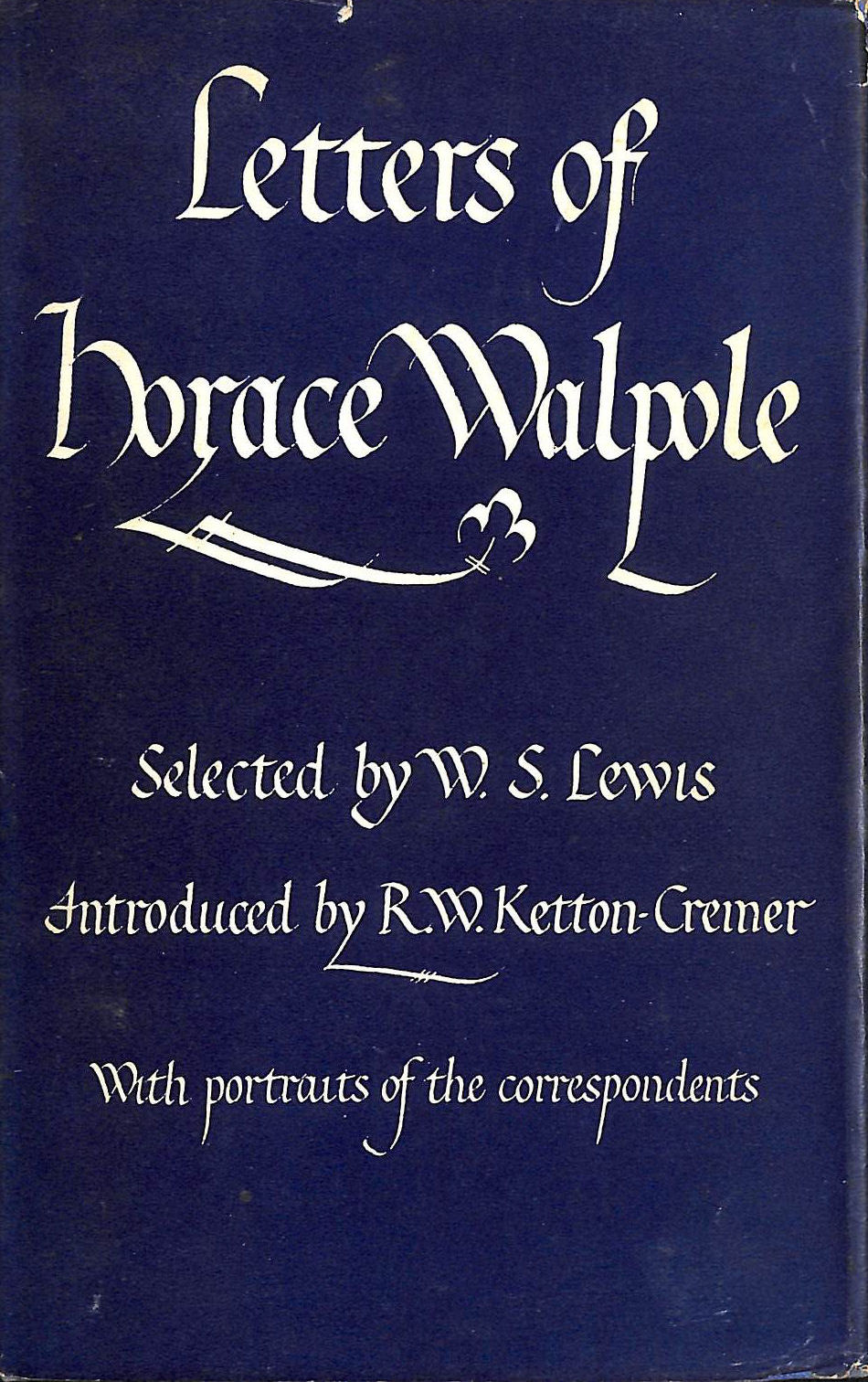 Image for Letters of Horace Walpole