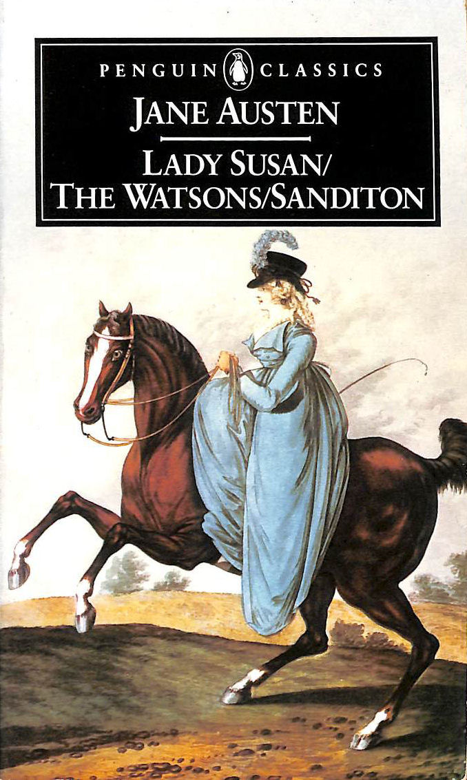 Image for Lady Susan/The Watsons/Sanditon