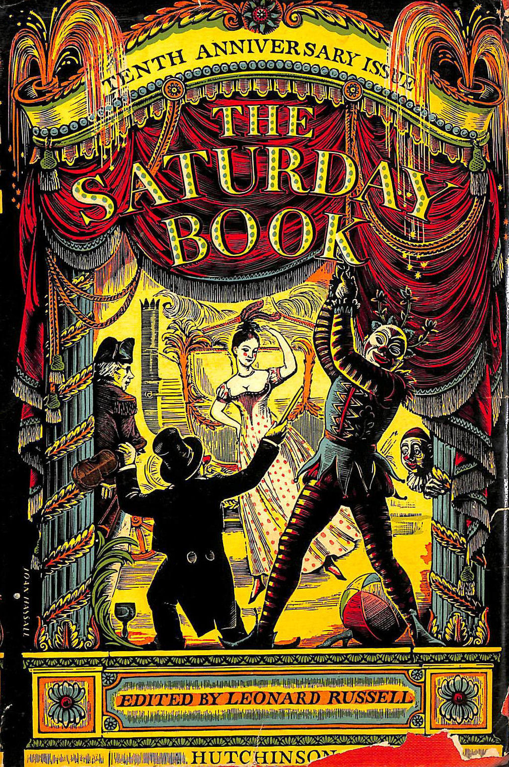 Image for The Saturday Book. Tenth Year. Celebrating The Tenth Anniversary Of This Renowned Repository Of Curiosities And Looking-Glass Of Past And Present.