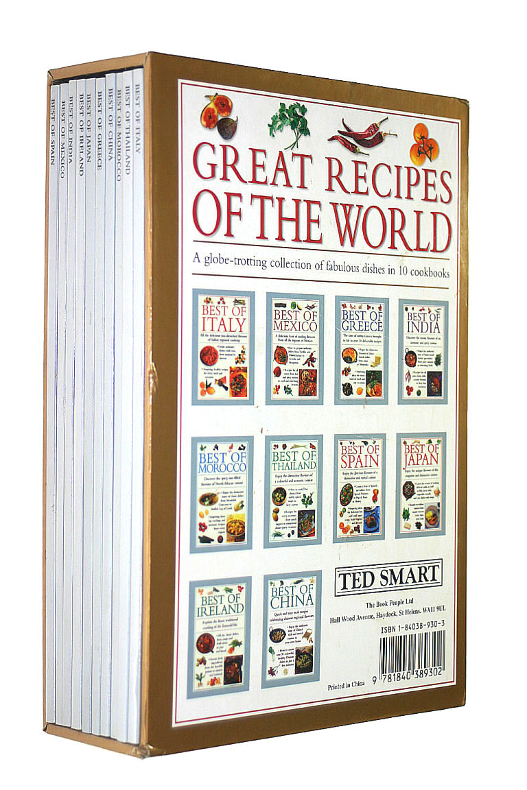 Image for Great Recipes of the World - A globe-trotting collection of fabulous dishes in 10 cookbooks