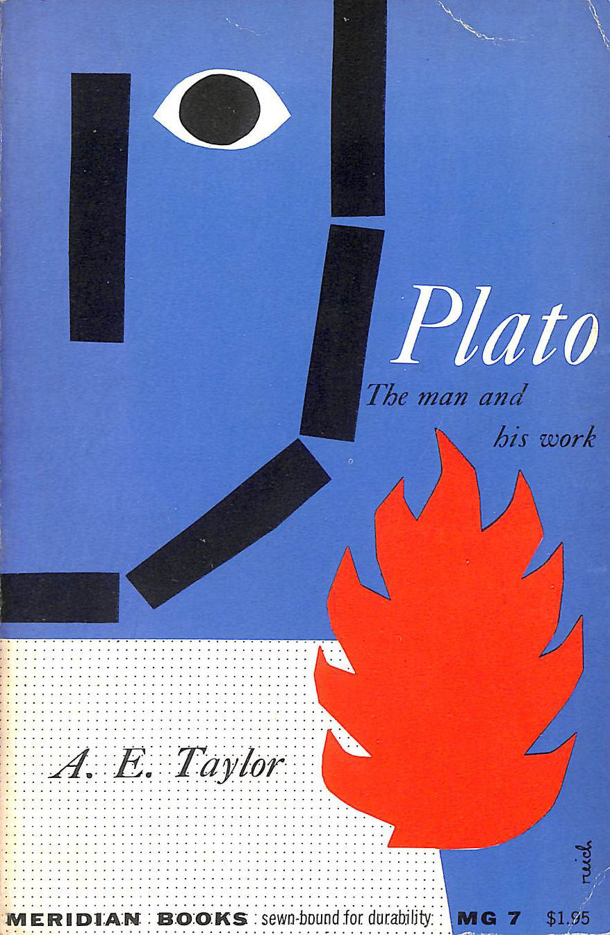 Image for Plato, The Man and His Work