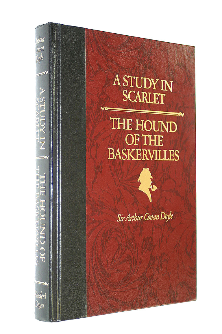 Image for A Study in Scarlet and The Hound of the Baskervilles