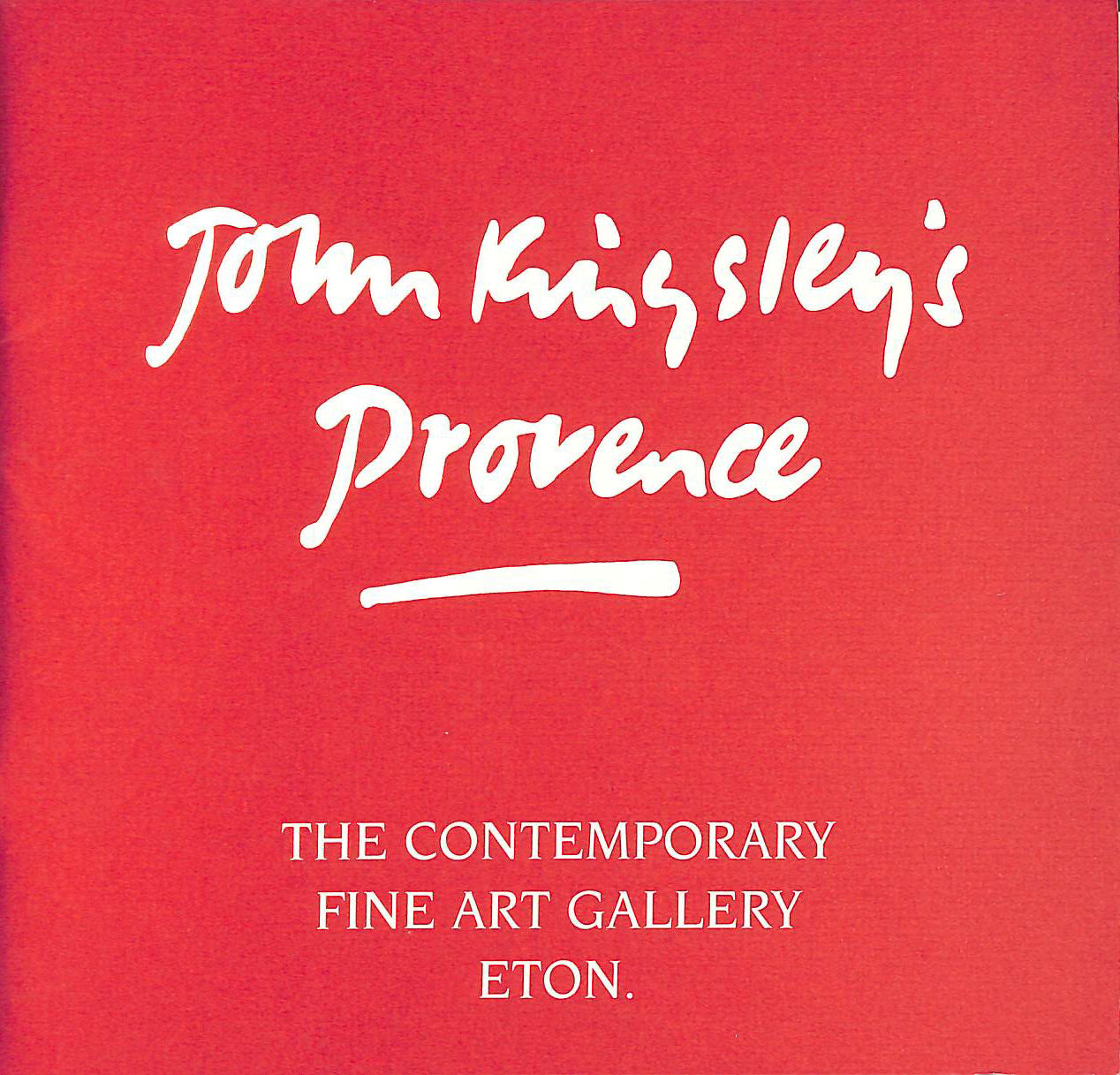 Image for John Kingsley, an Exhibition of Recent Works